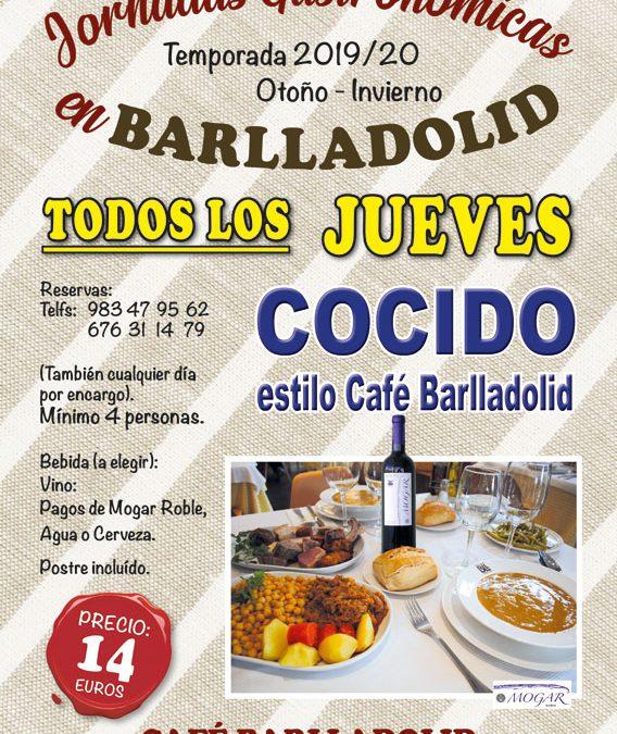 Todos los jueves (temporada Otoño-Invierno), COCIDO ESTILO BARLLADOLID
